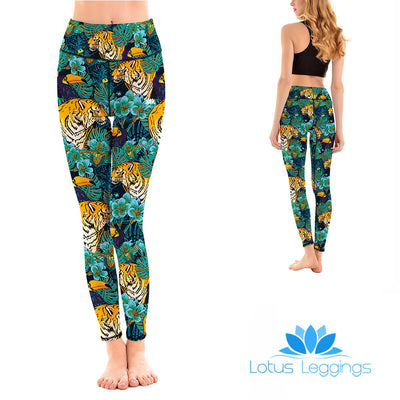 LotusX™ Jungle Tiger Leggings