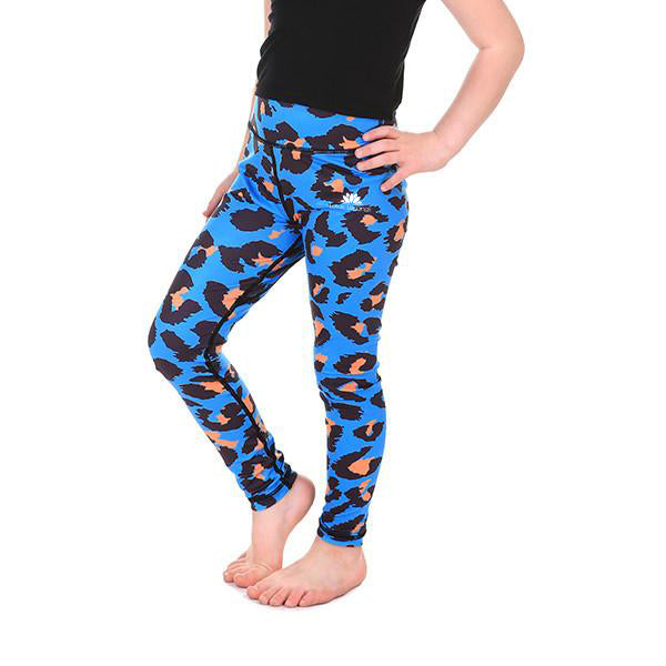 LotusX™ Kid's Neon Cheetah Leggings
