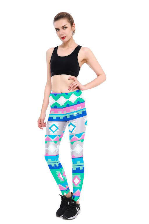 Pixel Tribal Leggings