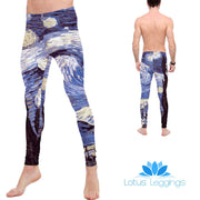 The Sky at Night Leggings