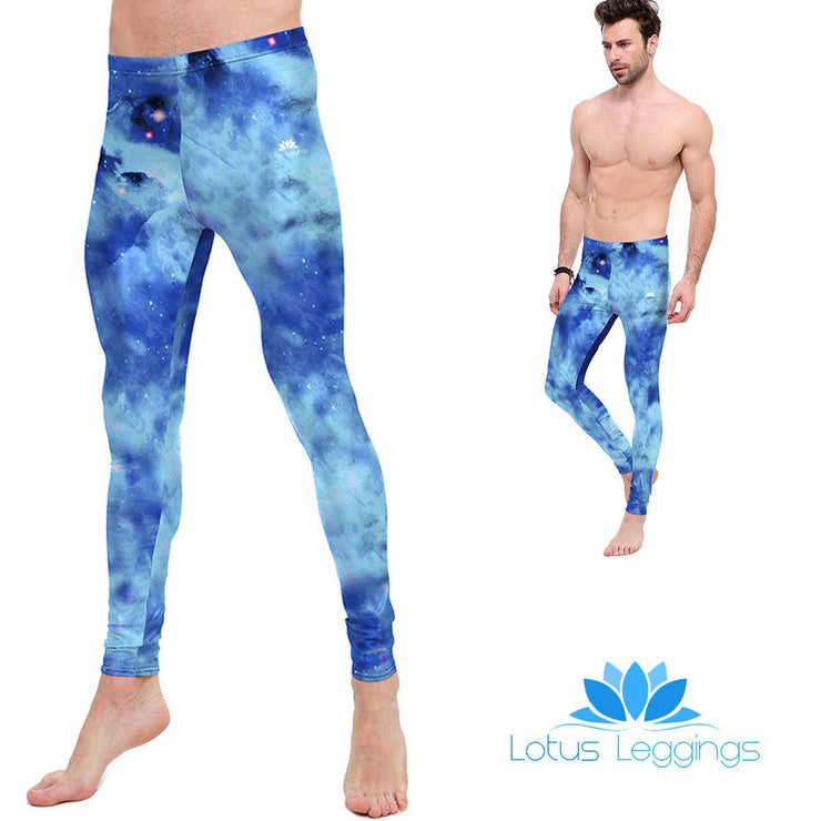 Blue Nebula Leggings