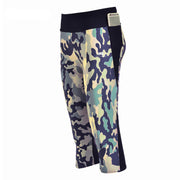 CAMO ATHLETIC CAPRI