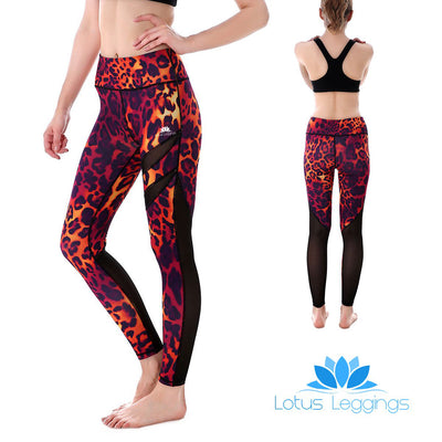 Hot Cheetah MaxReveal Leggings