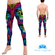 Rainbow Zombie Leggings
