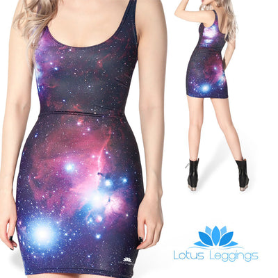 GALAXY SLEEVELESS DRESS