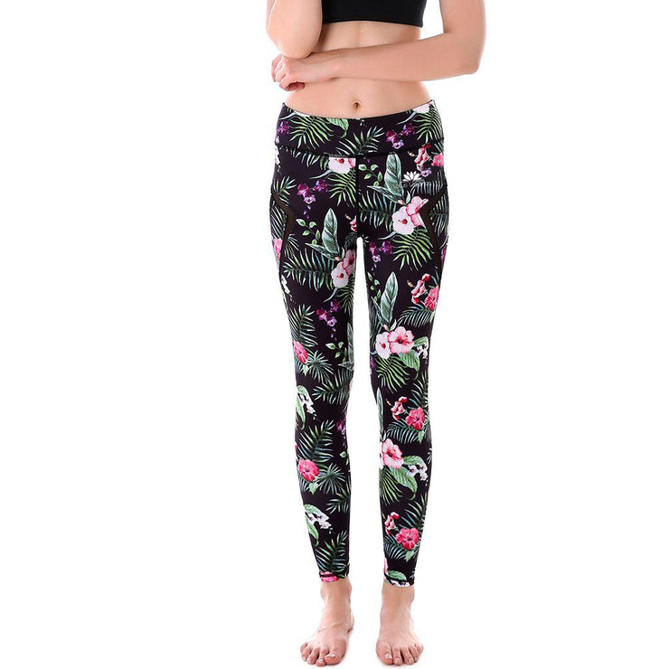 Floral Tropics MaxPerformance Leggings