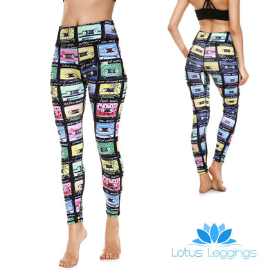 LotusX™ Retro Cassette Leggings