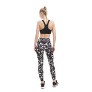 Monochrome Splatter MaxAir Leggings - Lotus Leggings