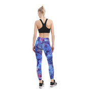 Blue Passion MaxFlo Leggings - Lotus Leggings