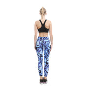 Orchid Blue MaxFlo Leggings - Lotus Leggings