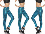 MERMAID ATHLETIC LEGGINGS