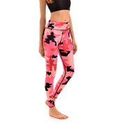 LOTUSX™ Pink Camo Leggings