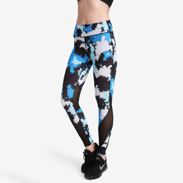 Powder Blue MaxLite Leggings - Lotus Leggings