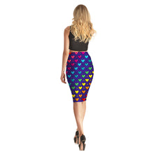 Colorful Hearts Long Skirt - Lotus Leggings