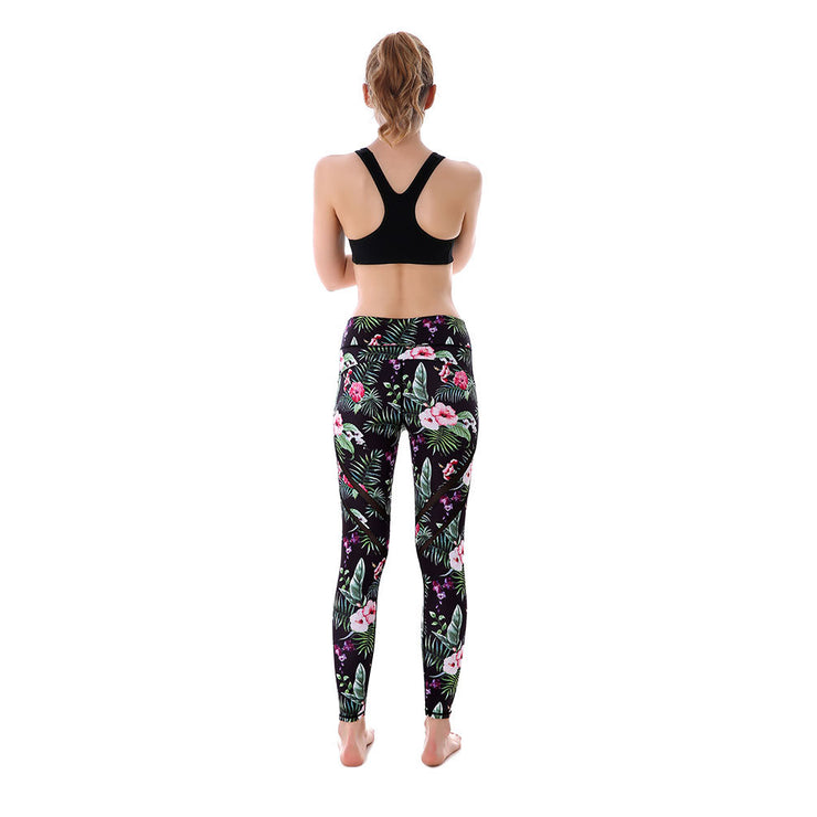 Floral Tropics MaxPerformance Leggings - Lotus Leggings