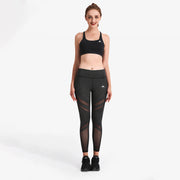 Charcoal SwipeX Leggings - Lotus Leggings