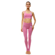 Pretty in Pink Bow Sports Set - Lotus Leggings