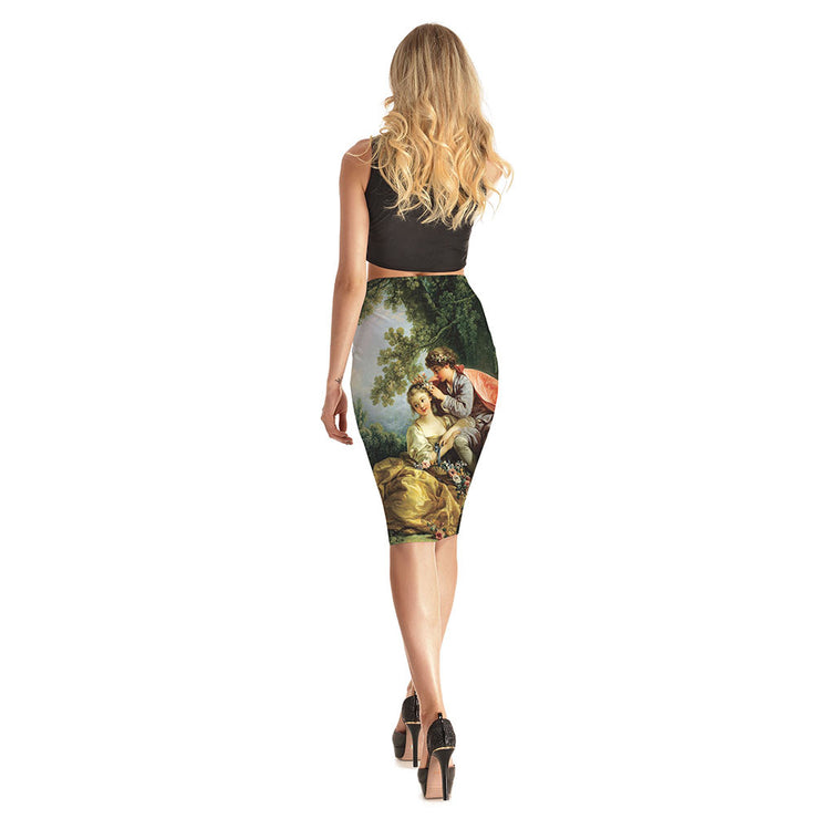 Renaissance Long Skirt - Lotus Leggings