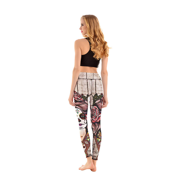 LotusX™ Muertos Leggings - Lotus Leggings