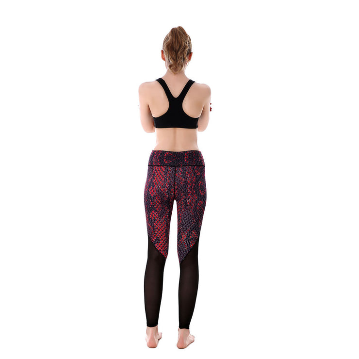 Snakeskin MaxReveal Leggings - Lotus Leggings