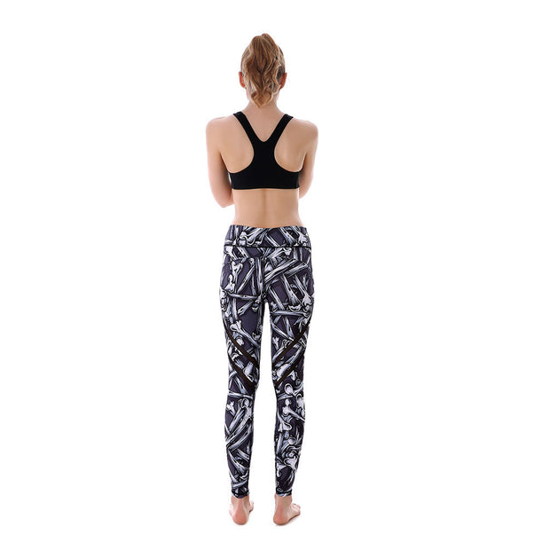 Falling Bones MaxPerformance Leggings - Lotus Leggings