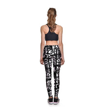 Scribble Athletic Leggings - Lotus Leggings