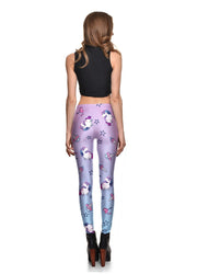 Purple Unicorn Leggings - Lotus Leggings