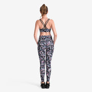 Holographic Feather PerformX Leggings - Lotus Leggings