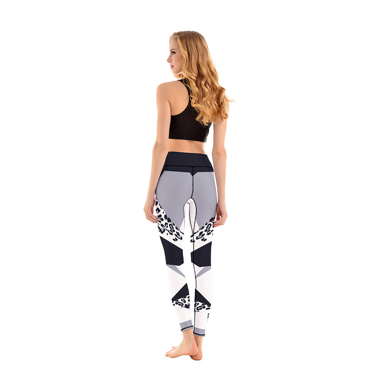 LOTUSX™ Geo Leopard Leggings