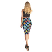 Rainbow Quilt Long Skirt - Lotus Leggings