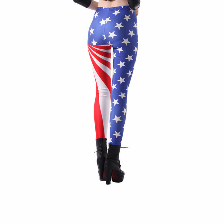STAR SPANGLED LEGGINGS - Lotus Leggings