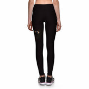 ANGRY KITTY ATHLETIC LEGGINGS - Lotus Leggings