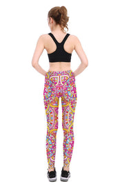 Mandala Print Leggings - Lotus Leggings