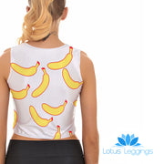 BANANAS CROP TOP - Lotus Leggings