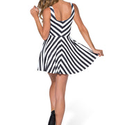 BEETLEJUICE SKATER DRESS - Lotus Leggings