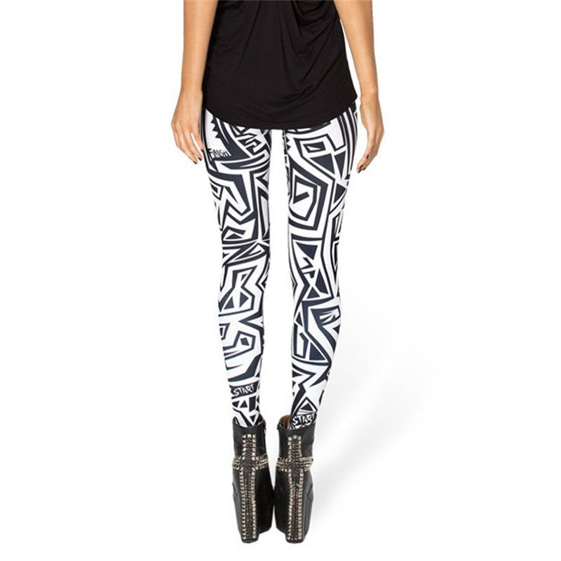 MAZE LEGGINGS - Lotus Leggings