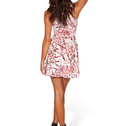 BLOOD SPLATTERED SKATER DRESS - Lotus Leggings