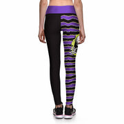 BREAKOUT SKELETON ATHLETIC LEGGINGS - Lotus Leggings