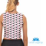 BULLETS CROP TOP - Lotus Leggings