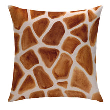 Peek-A-Giraffe Pillow Cover
