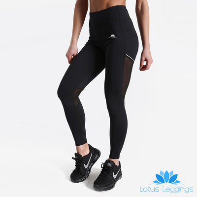 Blackout LotusFlash Leggings