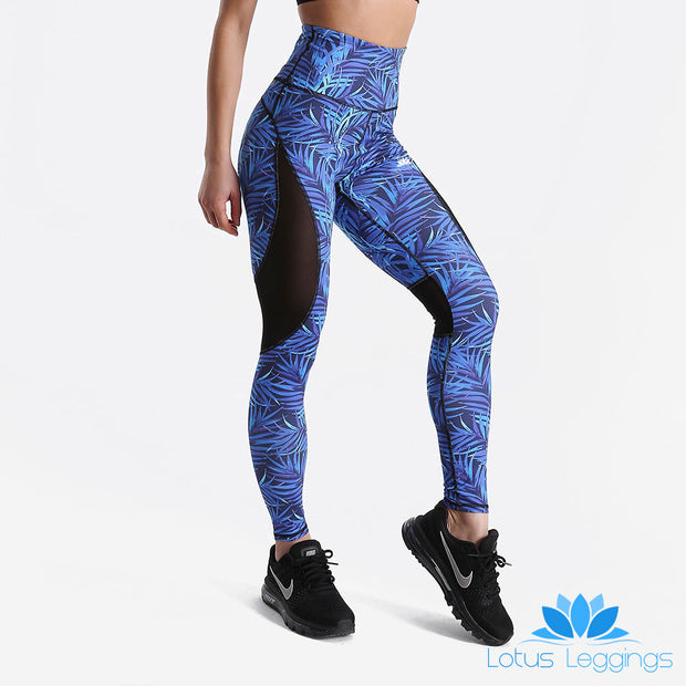 BlueLens Tropical Engineered Leggings