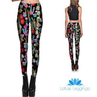 Cactus Cuteness Leggings