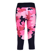 CAMO ATHLETIC CAPRI - Lotus Leggings