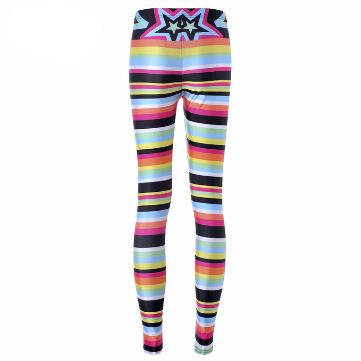 CANDY STRIPES LEGGINGS - Lotus Leggings