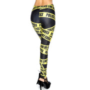 CAUTION TAPE LEGGINGS - Lotus Leggings