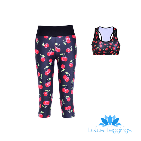 CHERRIES ATHLETIC SET