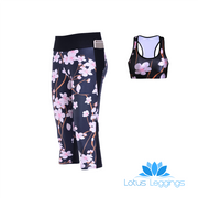CHERRY BLOSSOMS ATHLETIC SET - Lotus Leggings