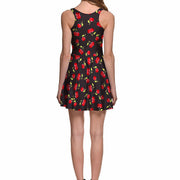 CHERRY SKATER DRESS - Lotus Leggings