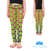 Kid's LotusX™ Kiwi Kraze Leggings - Lotus Leggings